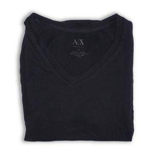 A X Armani Exchange Men's Basic Pima V Neck Size S